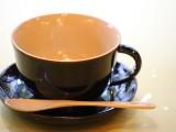 春慶が美しいちょっとリッチなコーヒーカップです。スプーン・皿付き!