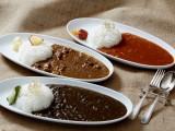 飛騨の食材を使い3つの味に仕上がったカレーです。ご当地の味として受賞もしております。