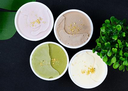 金粉,アイスクリーム,サプライズ,ギフト